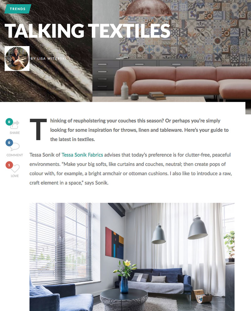 Talking-Textiles
