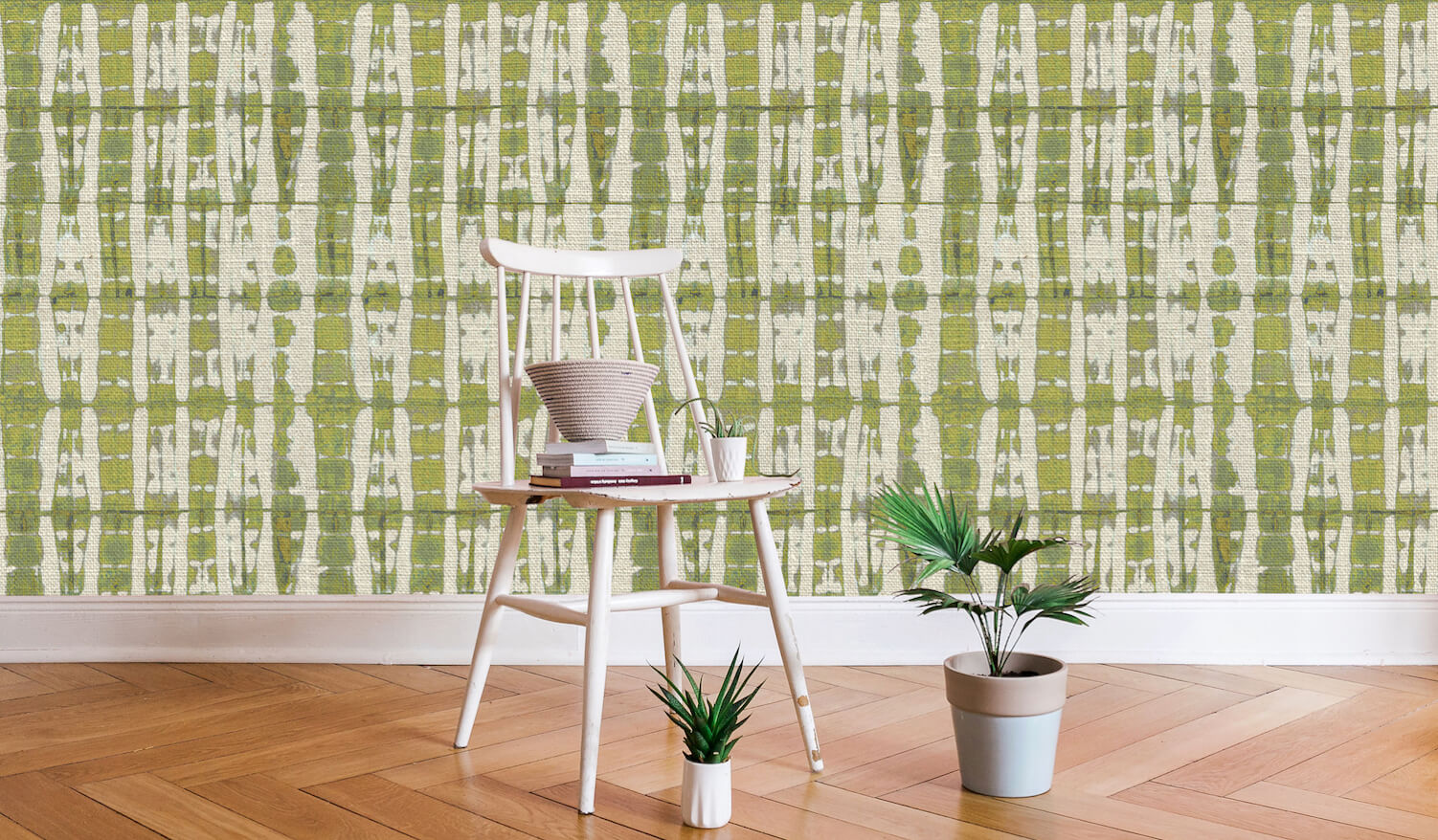 Cottonberry Bamboo Olive2 Wallpaper web